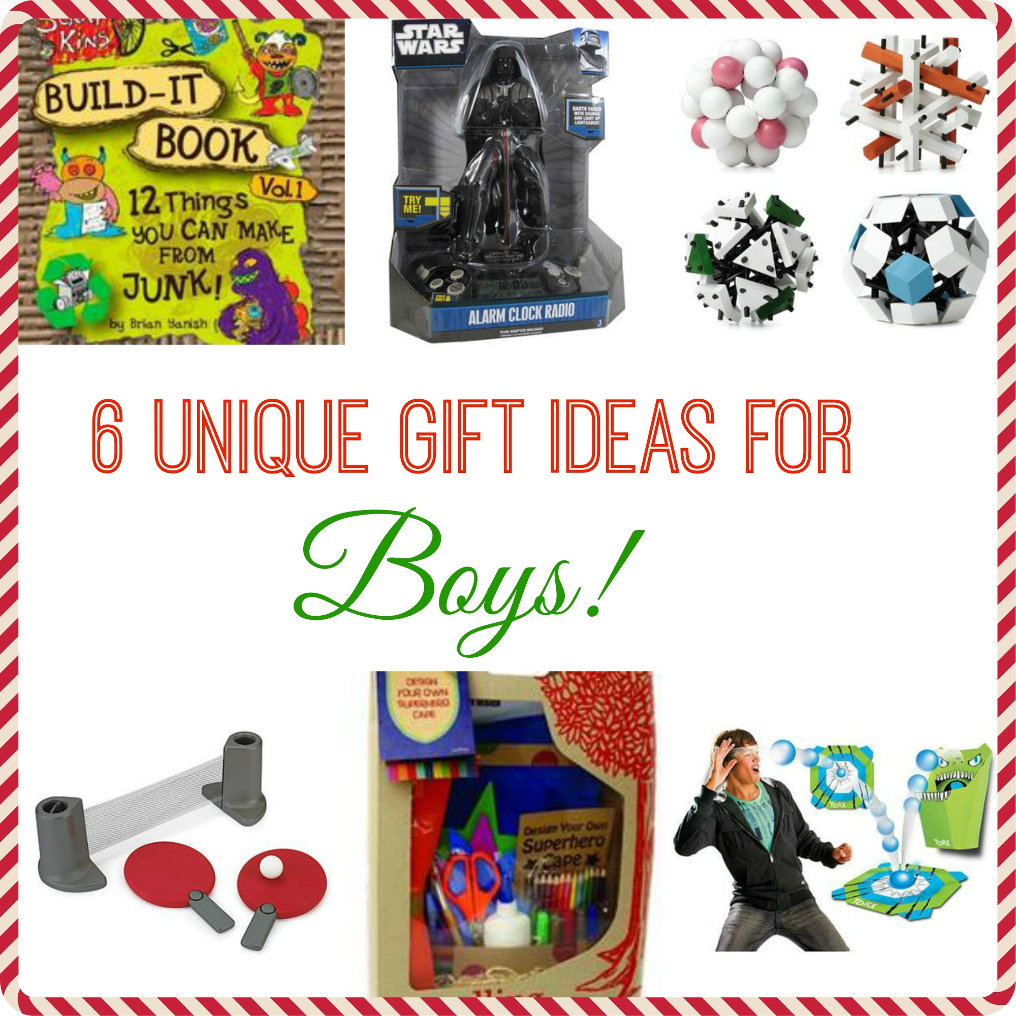 Unique Gift Ideas For Boys  6 Unique Gift Ideas for Boys