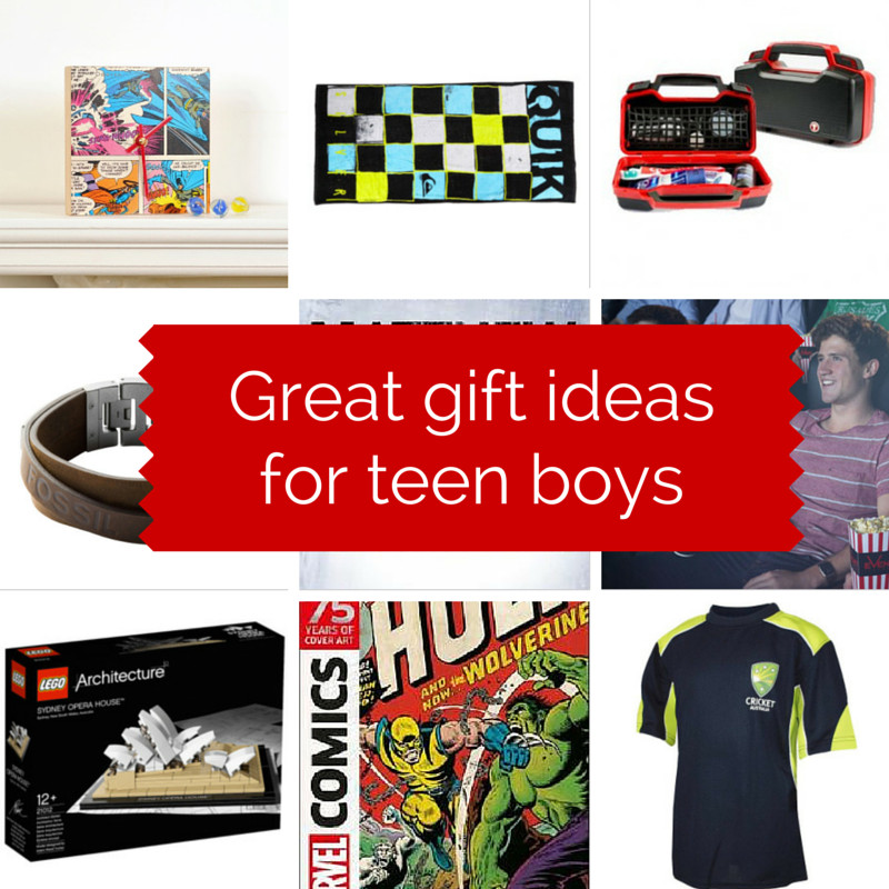Unique Gift Ideas For Boys  Great t ideas for teen boys GIVEAWAY