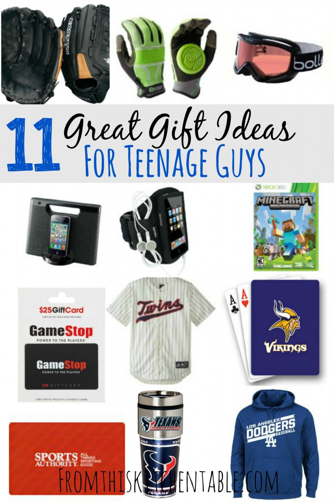 Unique Gift Ideas For Boys  Gift Ideas for Teenage Boys From This Kitchen Table