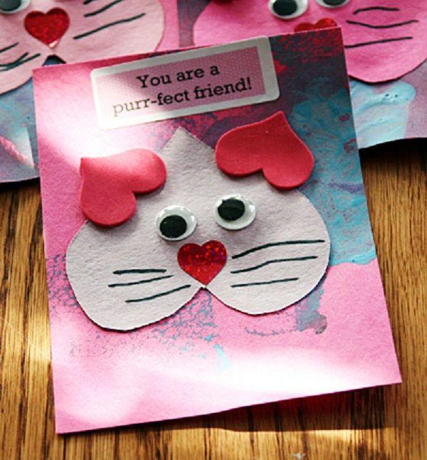 Valentine Cards Craft For Preschool  Valentine Crafts for Preschoolers Valentines