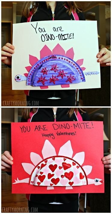 Valentine Cards Craft For Preschool  1000 ideas about Dinosaur Crafts on Pinterest