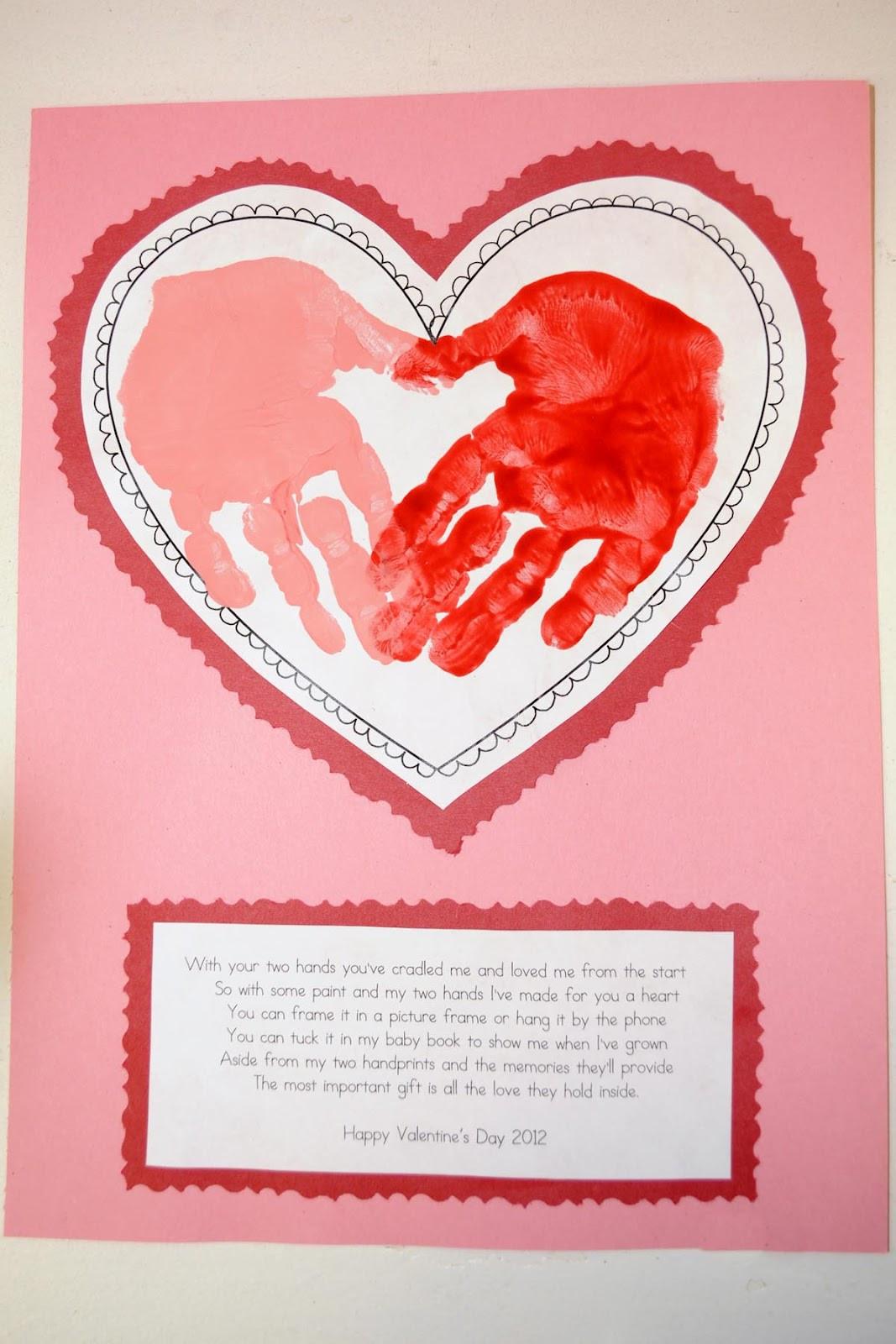 Valentine Cards Craft For Preschool  Mrs Ricca s Kindergarten Valentine s Day