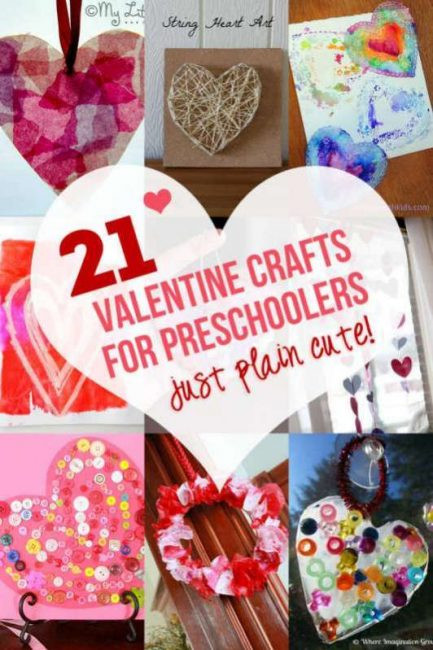 Valentine Cards Craft For Preschool  21 Valentine Crafts for Preschoolers That are Just Plain Cute
