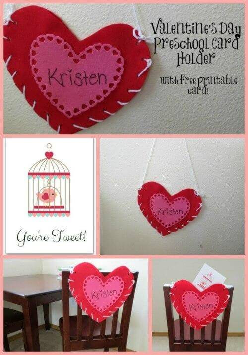 Valentine Cards Craft For Preschool  Valentine s Day Crafts for Preschoolers