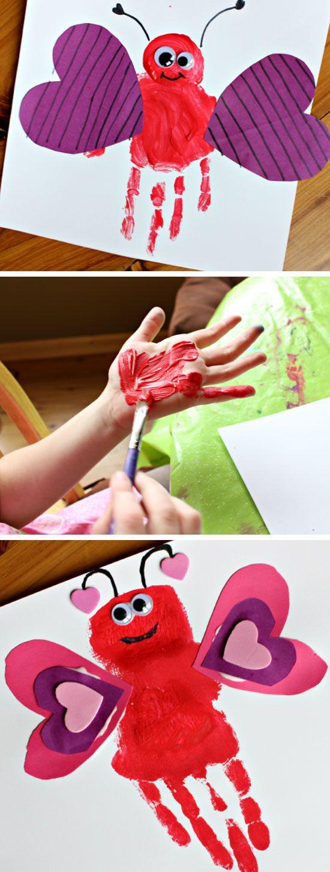 Valentine Craft Preschoolers  25 best ideas about Easy valentine crafts on Pinterest