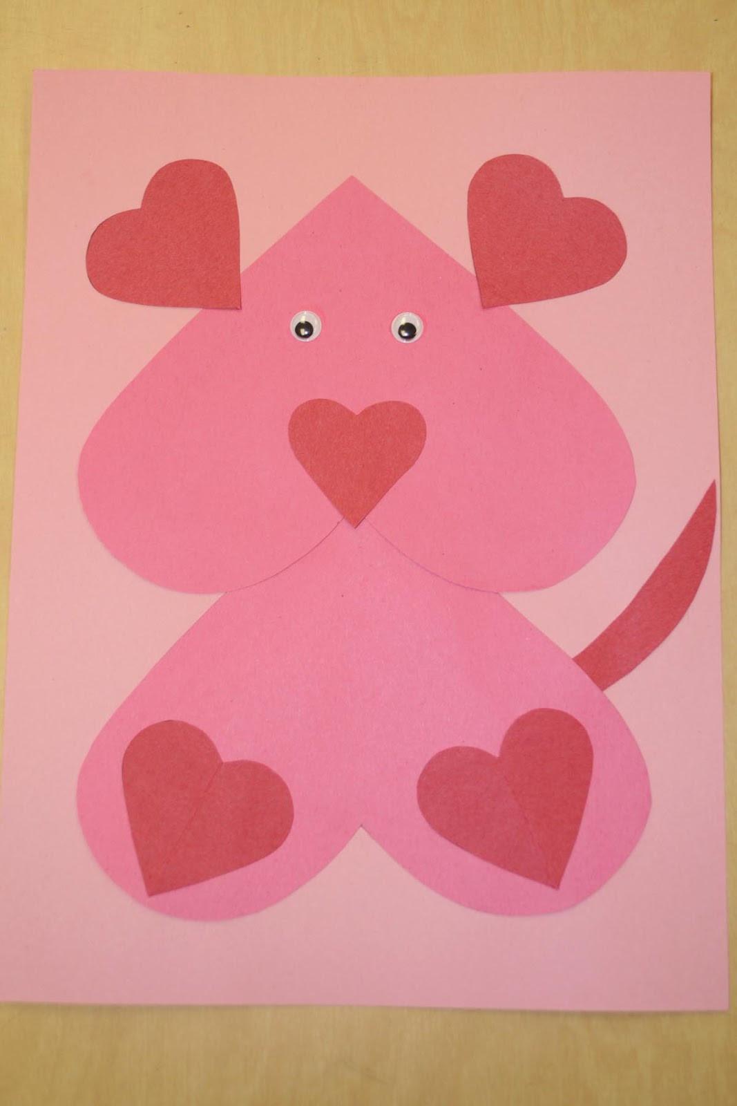 Valentine Craft Preschoolers  Mrs Ricca s Kindergarten Valentine s Day
