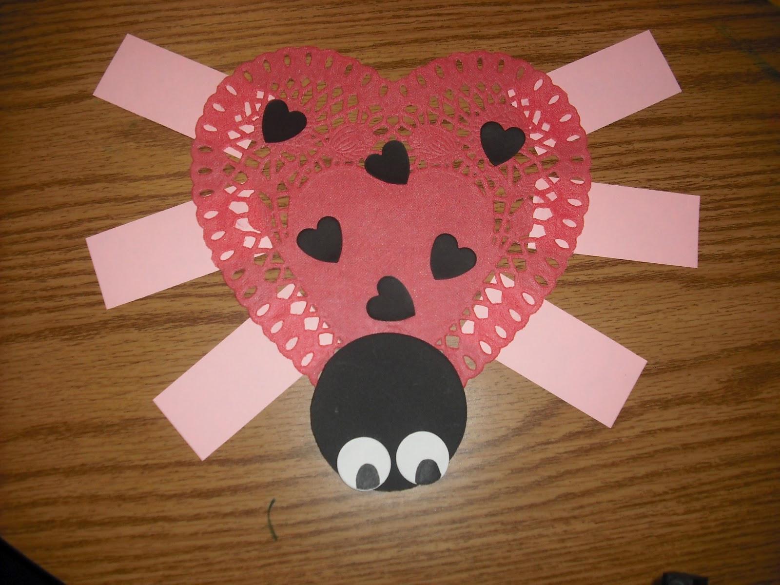 Valentine Craft Preschoolers  Sprinkles to Kindergarten Valentine Glyph Freebie and a
