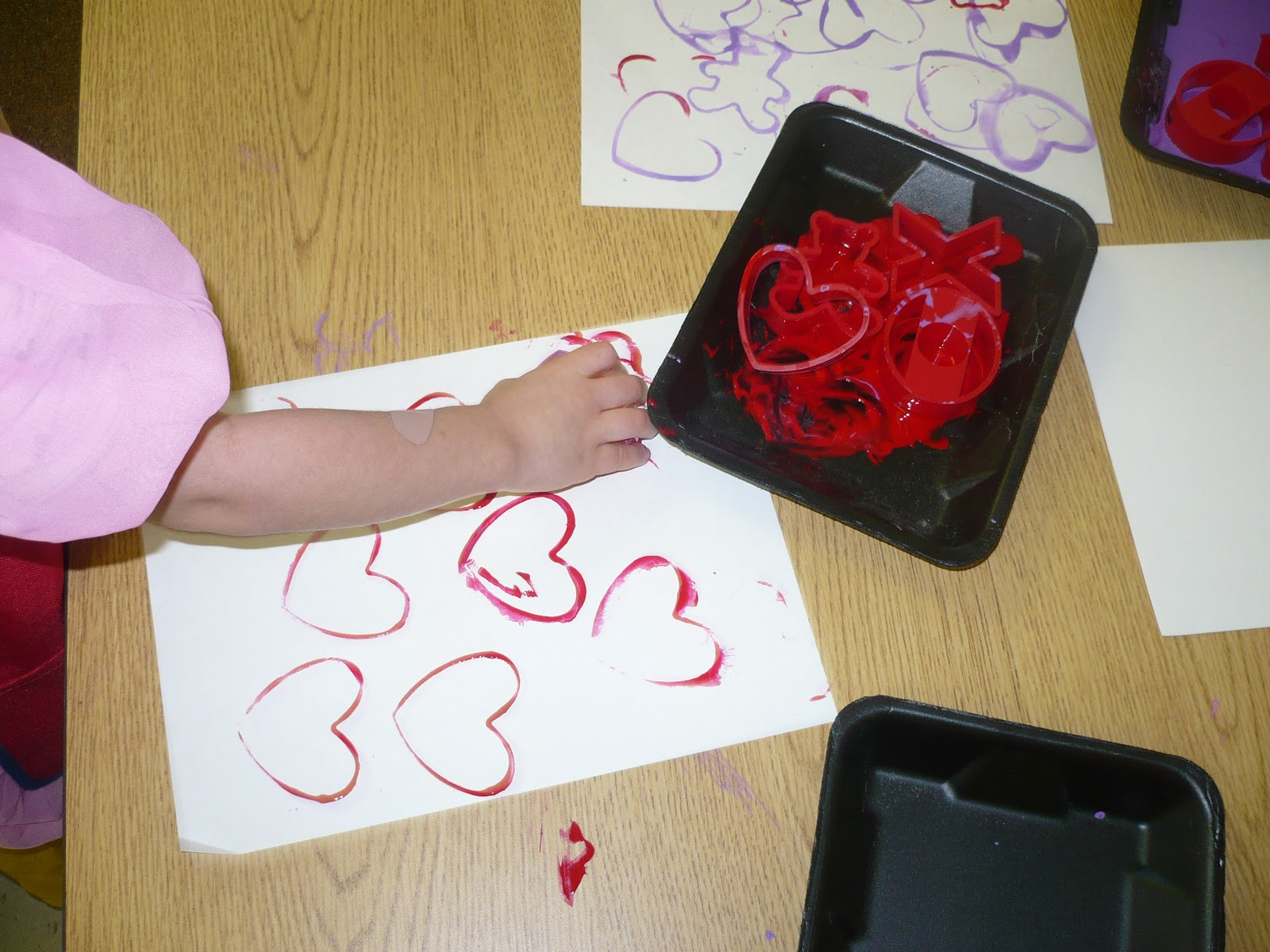 Valentine Craft Preschoolers  Centers and Circle Time Valentine Activities for Preschool