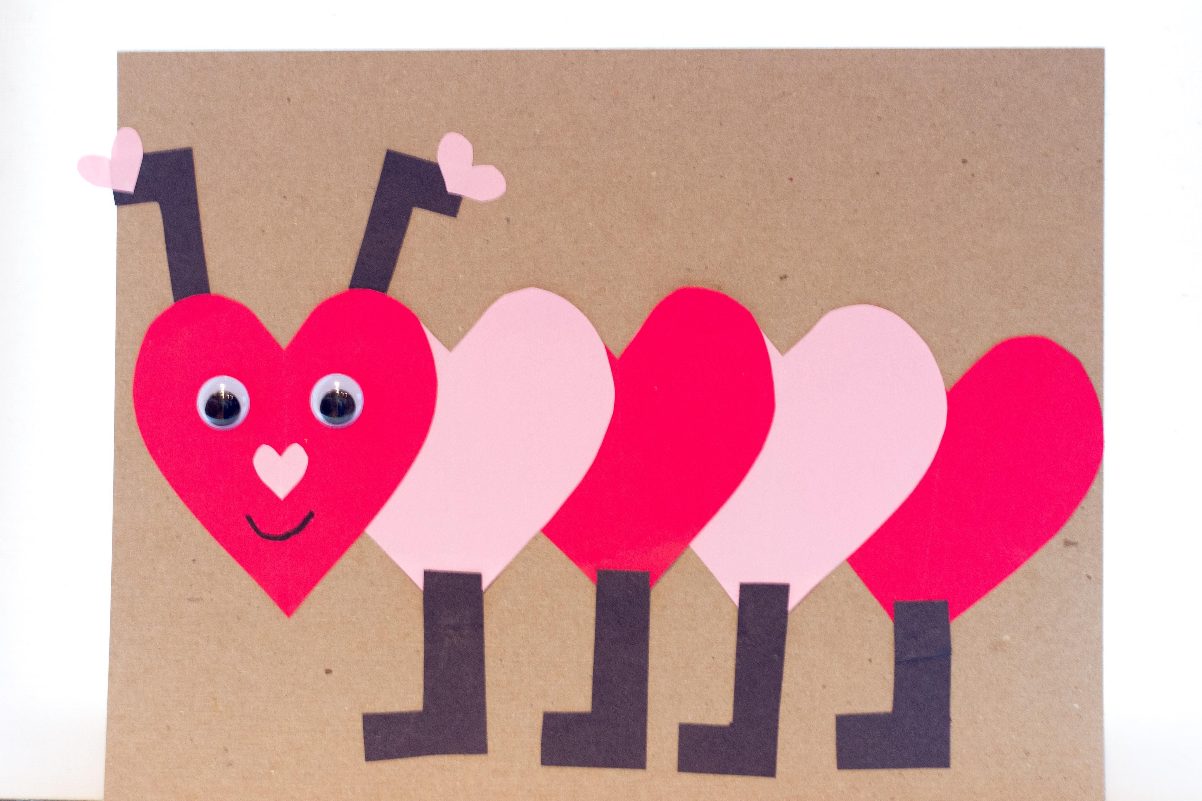 Valentine Craft Preschoolers  Valentines Day Craft