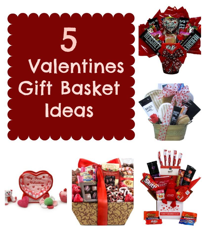 Valentine Day Gift Basket Ideas  5 Valentines Gift Basket Ideas Mrs Kathy King