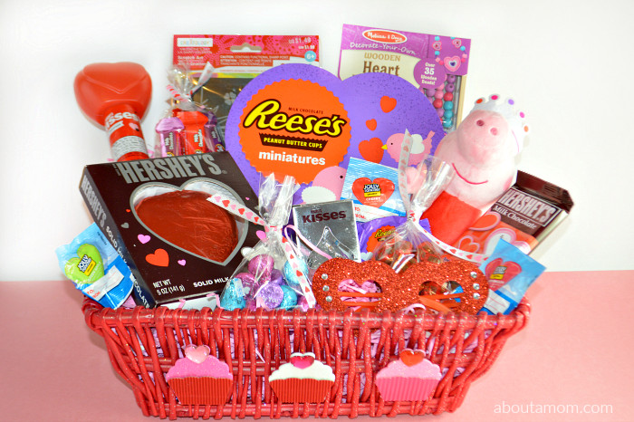 Valentine Day Gift Basket Ideas  Valentine s Day Basket Ideas for Kids About A Mom