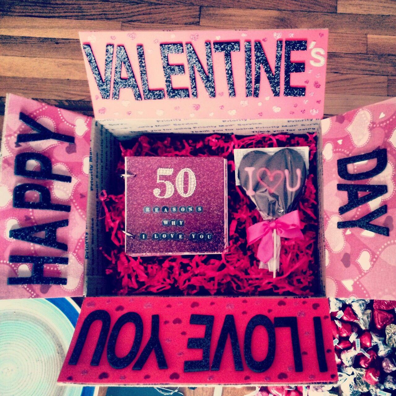Valentine Day Gift Box Ideas  Regalos sencillos para San Valentn
