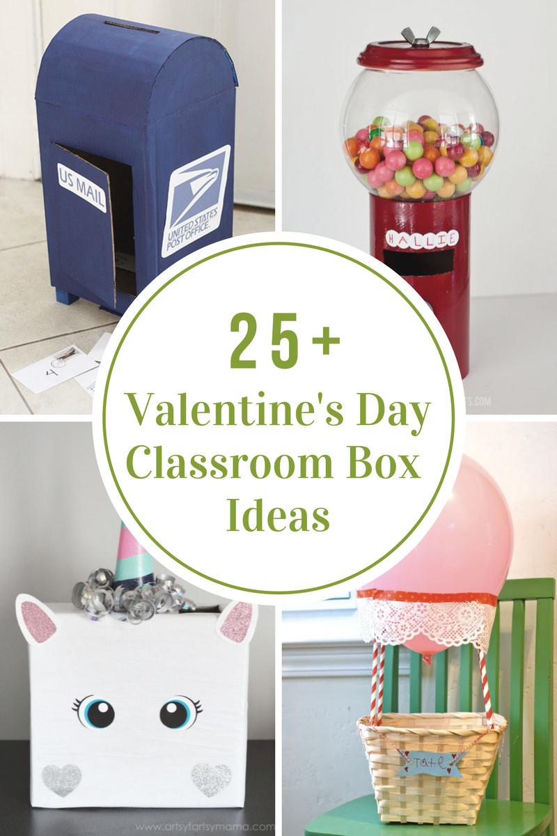 Valentine Day Gift Box Ideas  Valentine s Day Classroom Box Ideas The Idea Room