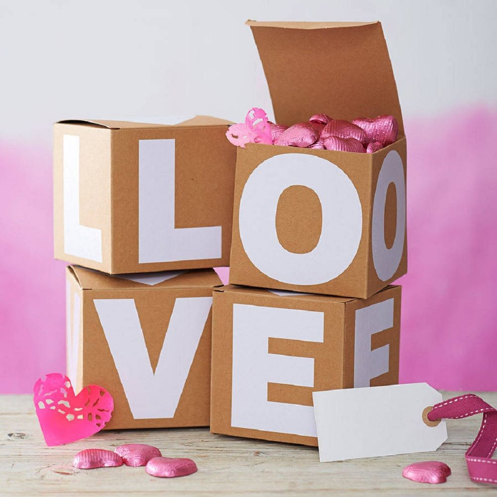 Valentine Day Gift Box Ideas  Valentines t box the letter room
