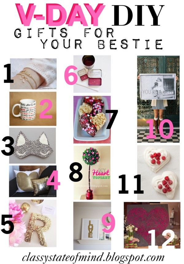 Valentine Day Gift Ideas For Best Friend  by Classy State of Mind