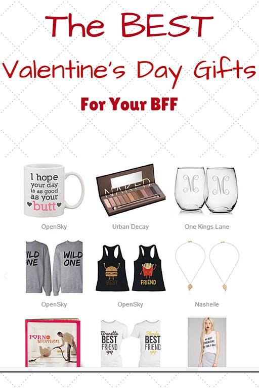 Valentine Day Gift Ideas For Best Friend  BEST Valentine s Day Gifts for Your Best Friend Run Eat