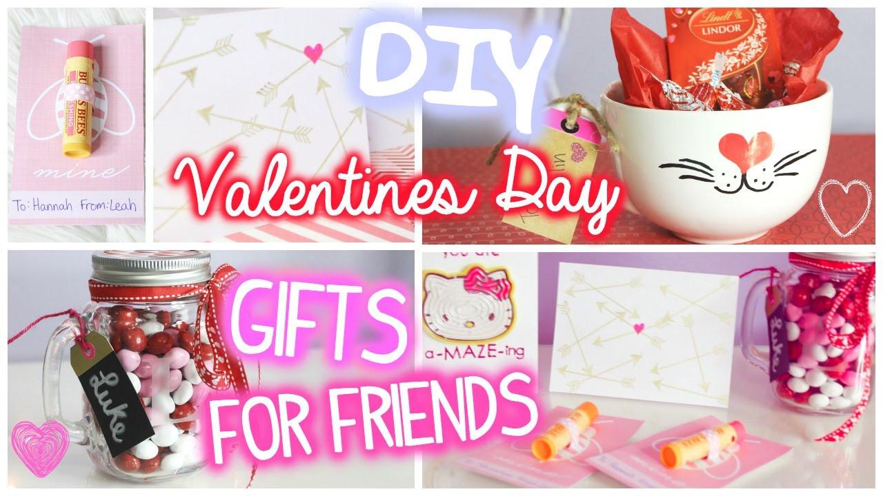 Valentine Day Gift Ideas For Best Friend  Valentines Day Gifts for Friends 5 DIY Ideas