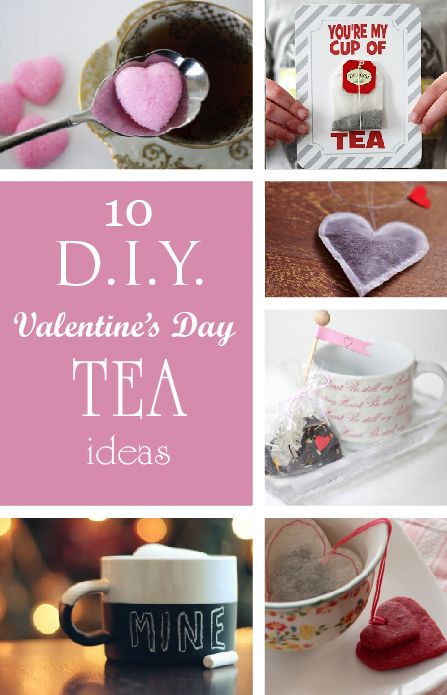 Valentine Day Gift Ideas For Best Friend  56 best DIY tea bags images on Pinterest