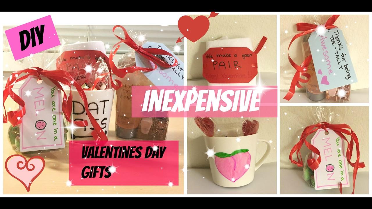 Valentine Day Gift Ideas For Best Friend  DIY inexpensive Valentines day ts to boyfriend