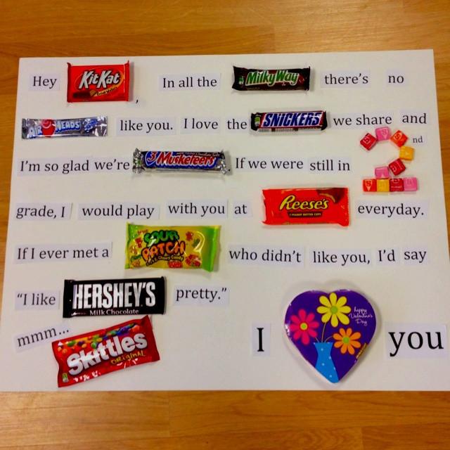 Valentine Day Gift Ideas For Best Friend  Birthday Gift for the best friend ♡ fun