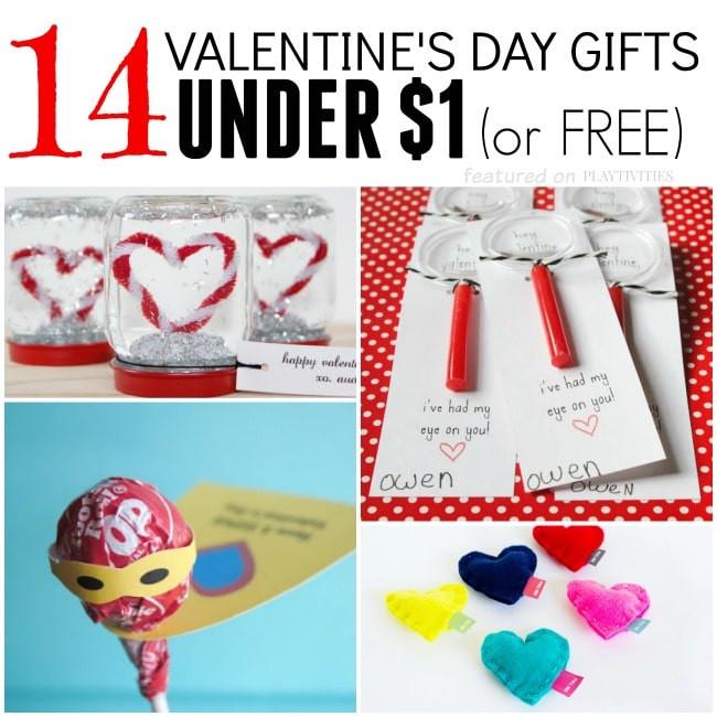 Valentine Day Gift Ideas For Best Friend  14 Homemade Valentine Gifts For Under $1 PLAYTIVITIES