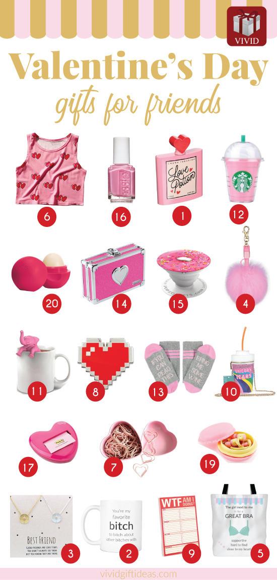 Valentine Day Gift Ideas For Best Friend  This Valentine s Day Shower Your Best Friends with These