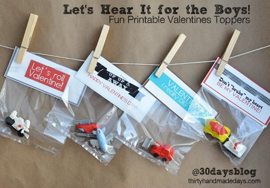 Valentine Gift Ideas For Child  Printable Lip Balm Valentine s Day Gift Idea