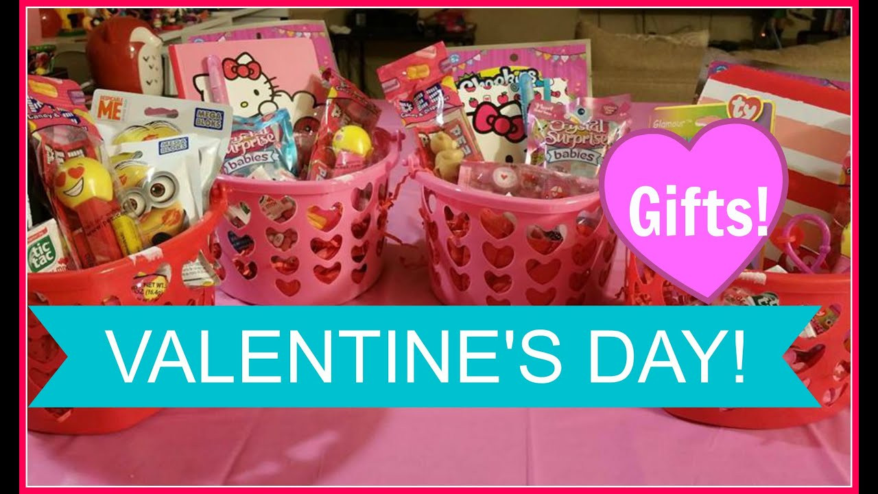 Valentine Gift Ideas For Child  VALENTINE S DAY BASKET FOR KIDS Valentine s Gift Ideas