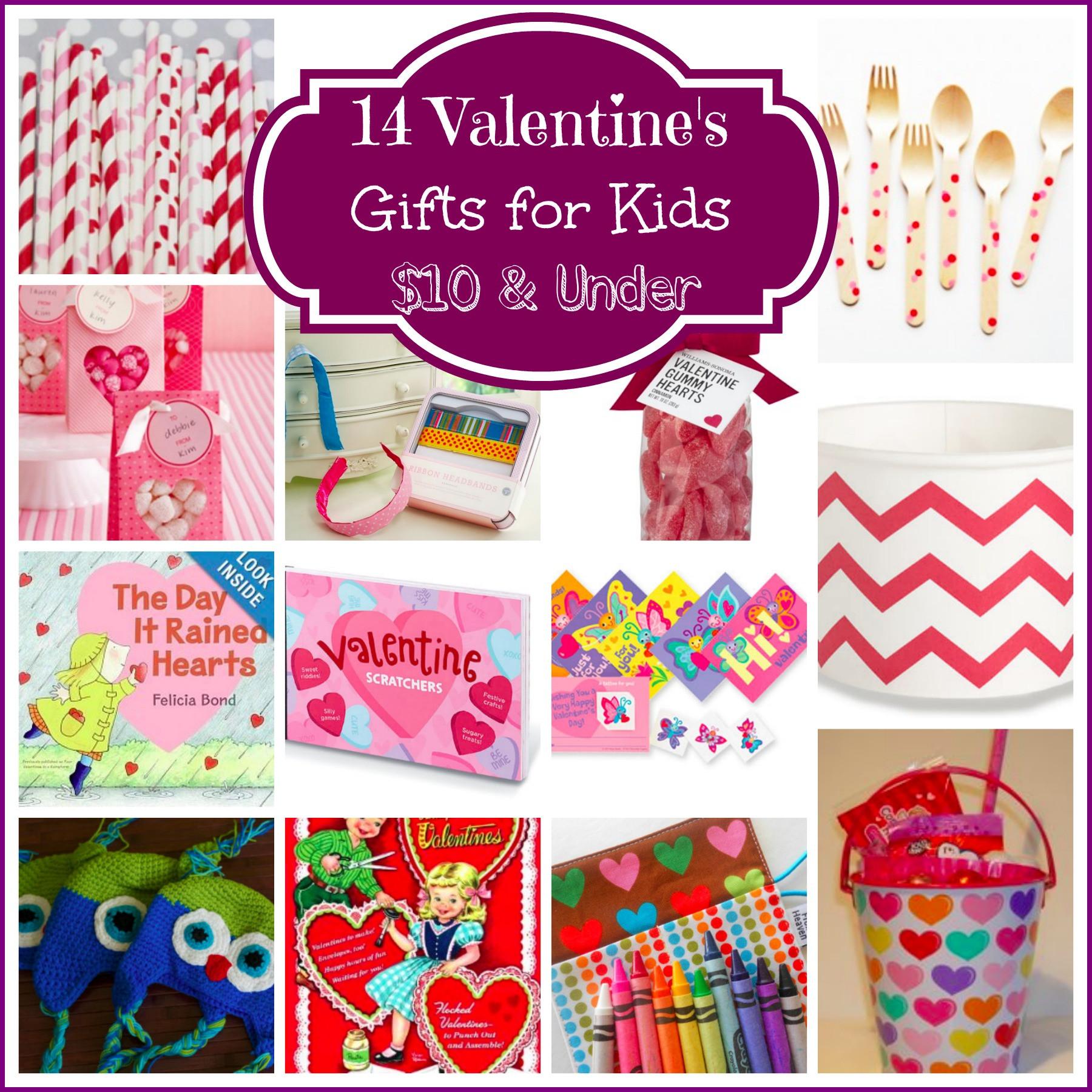 Valentine Gift Ideas For Child  Valentine s Day Post Round Up