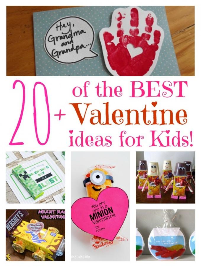 Valentine Gift Ideas For Child  Over 20 of the BEST Valentine ideas for Kids Kitchen