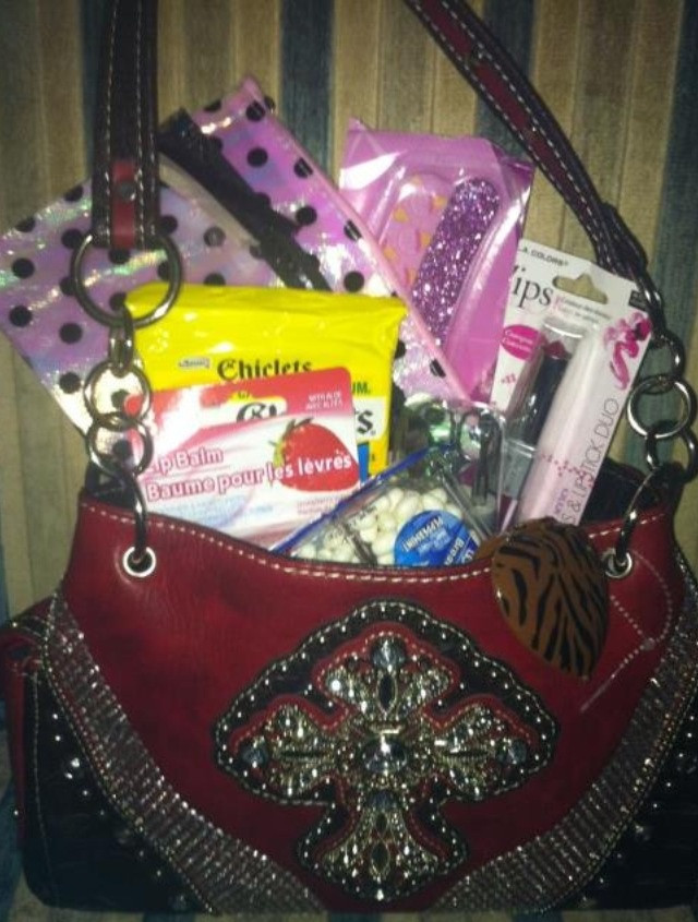 Valentine Gift Ideas For Daughter  Valentine s Day t basket purse for my daughter