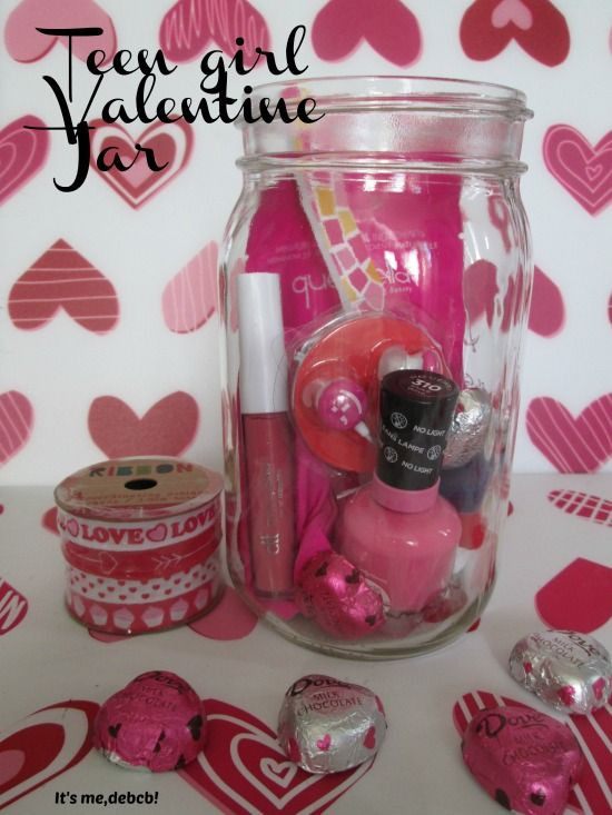 Valentine Gift Ideas For Daughter  Tickled Pink Valentine s Day Jar plus a FREE Printable