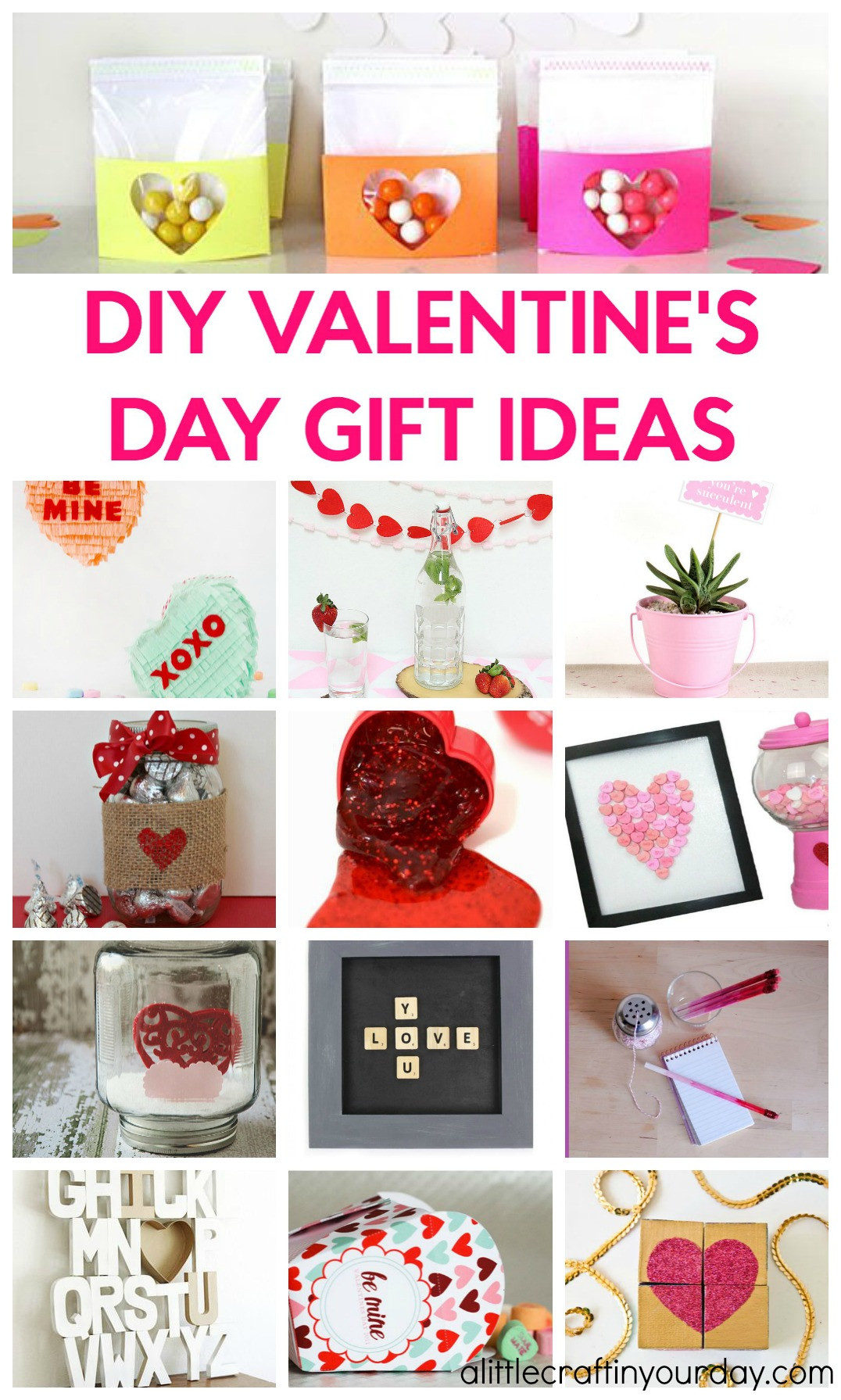 Valentine Gift Ideas For Daughter  DIY Valentines Day Gift Ideas A Little Craft In Your Day