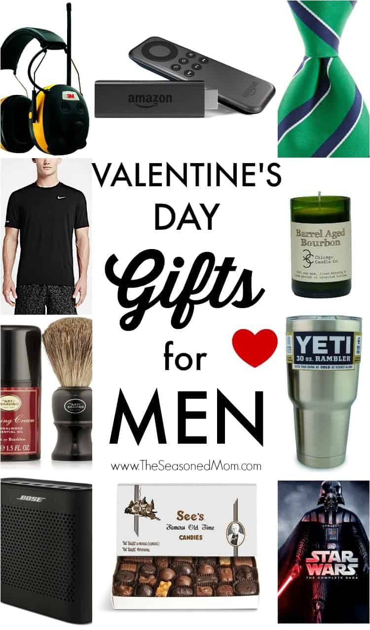 Valentine Guy Gift Ideas  Valentine s Day Gifts for Men The Seasoned Mom