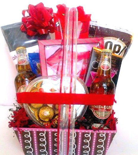 Valentine Guy Gift Ideas  Pin by Theresa Ashley on Val male t baskets