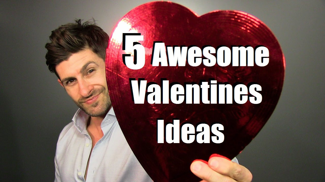Valentine'S Day Creative Gift Ideas  5 AWESOME Valentine s Day Gift Ideas
