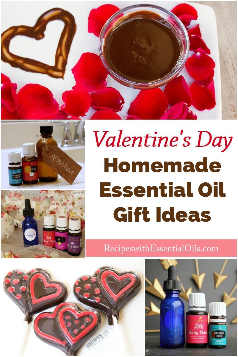 Valentine'S Day Creative Gift Ideas  Homemade Essential Oil Gift Ideas for Valentine s Day
