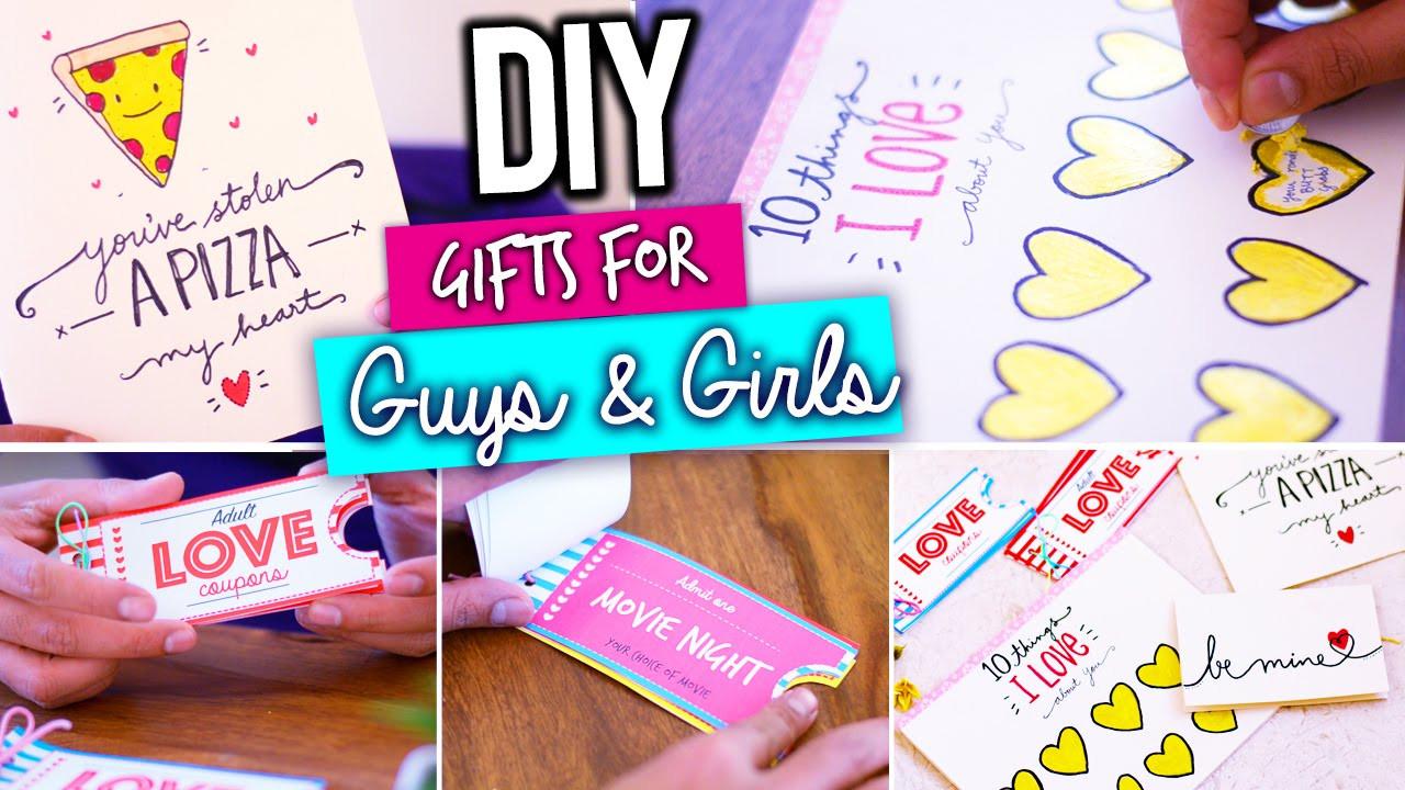 Valentine'S Day Creative Gift Ideas  DIY LAST MINUTE VALENTINE S DAY GIFT IDEAS
