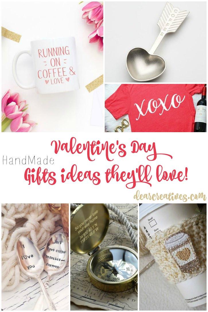 Valentine'S Day Creative Gift Ideas  Gift Ideas Handmade Valentine s Day They ll Love Ideas