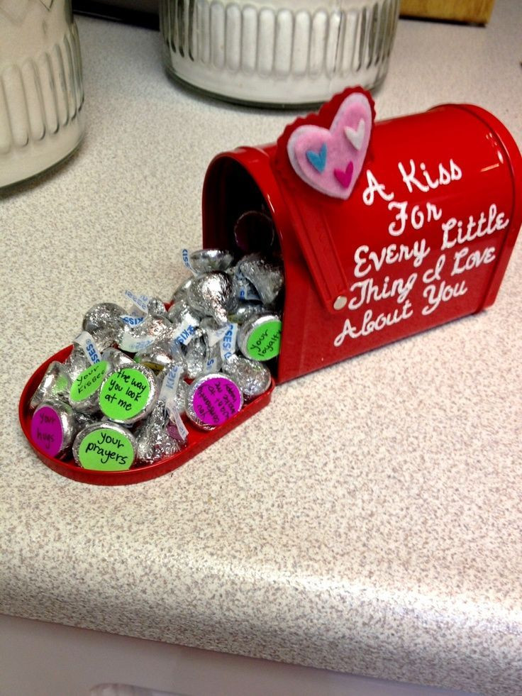 Valentine'S Day Creative Gift Ideas  I made this for my boyfriend for valentine s day Just