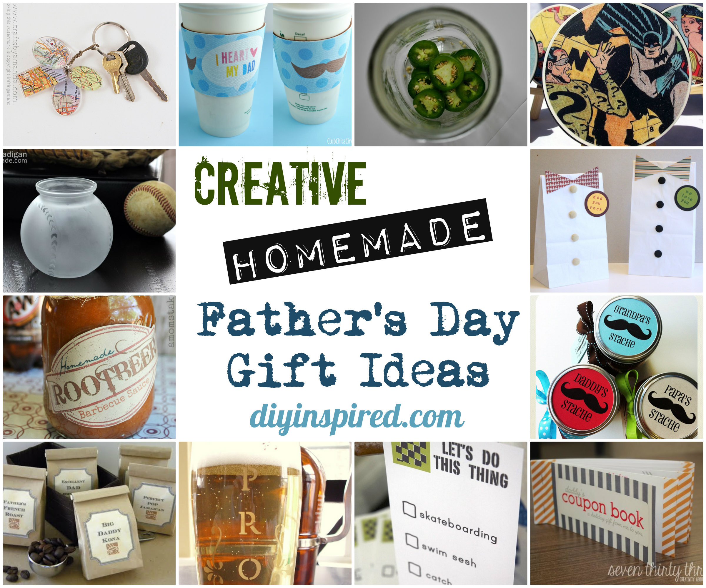 Valentine'S Day Creative Gift Ideas  Creative Homemade Father's Day Gift Ideas DIY Inspired