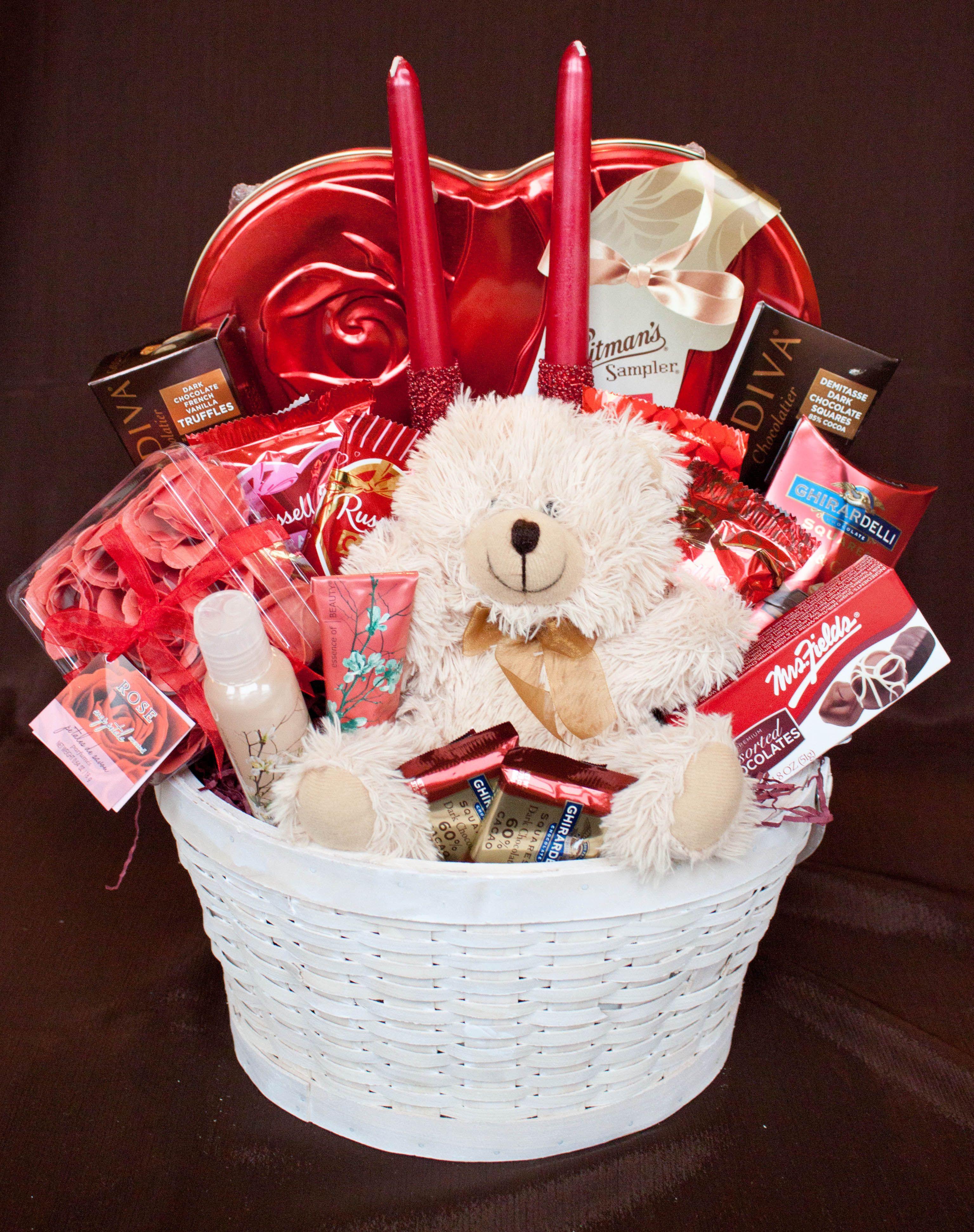 Valentine'S Day Gift Delivery Ideas  Valentine Basket Something Wonderful Baskets
