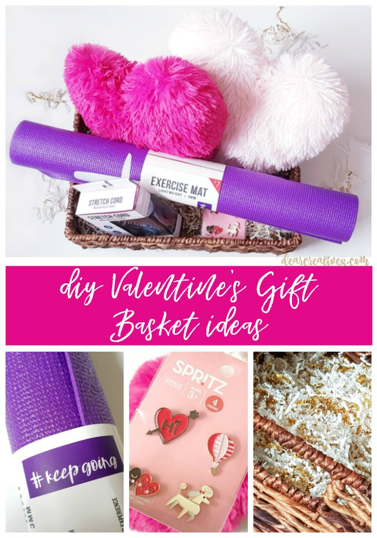 Valentine'S Day Gift Delivery Ideas  DIY Gift Basket for Valentine s Day Gift Ideas For Her