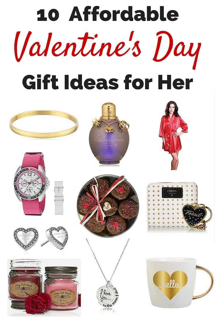 Valentine'S Day Gift Ideas For Her  10 Affordable Valentine's Day Gift Ideas for Her