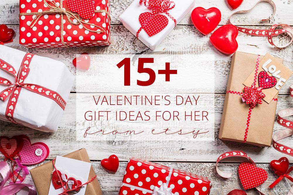 Valentine'S Day Gift Ideas For Her  15 Valentine s Day Gift Ideas for Her From Etsy