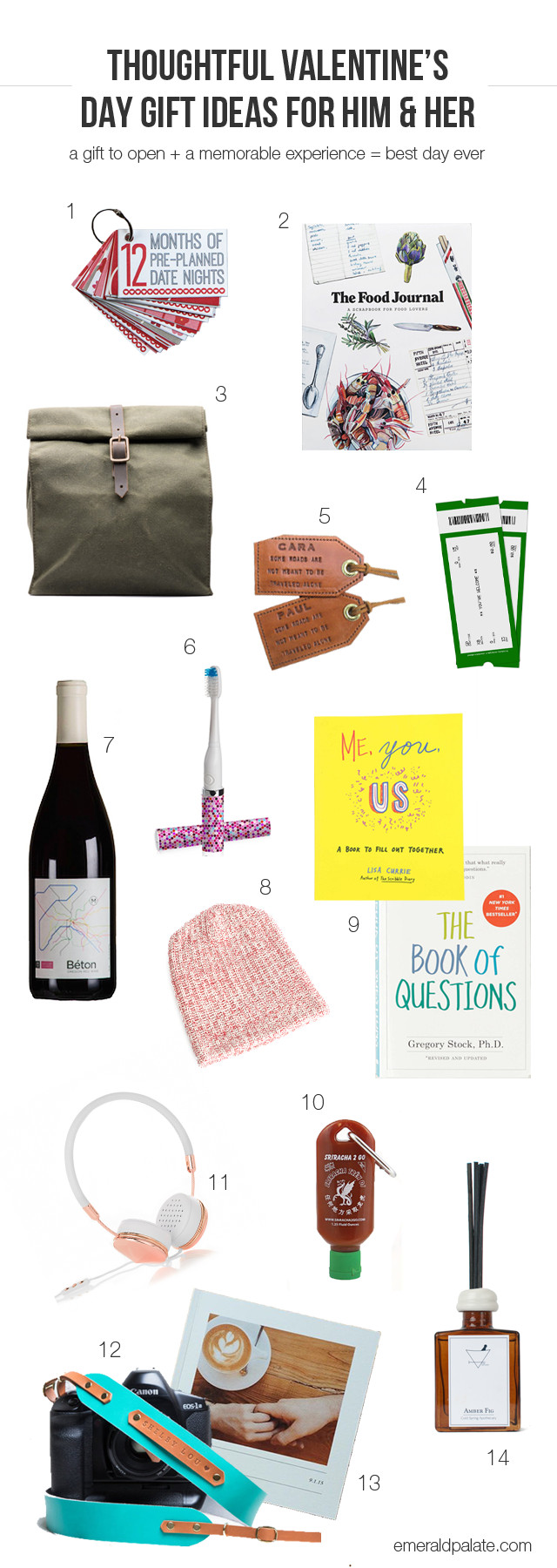 Valentine'S Day Gift Ideas For Her  Thoughtful Valentine s Day Gift Ideas For Him & Her The