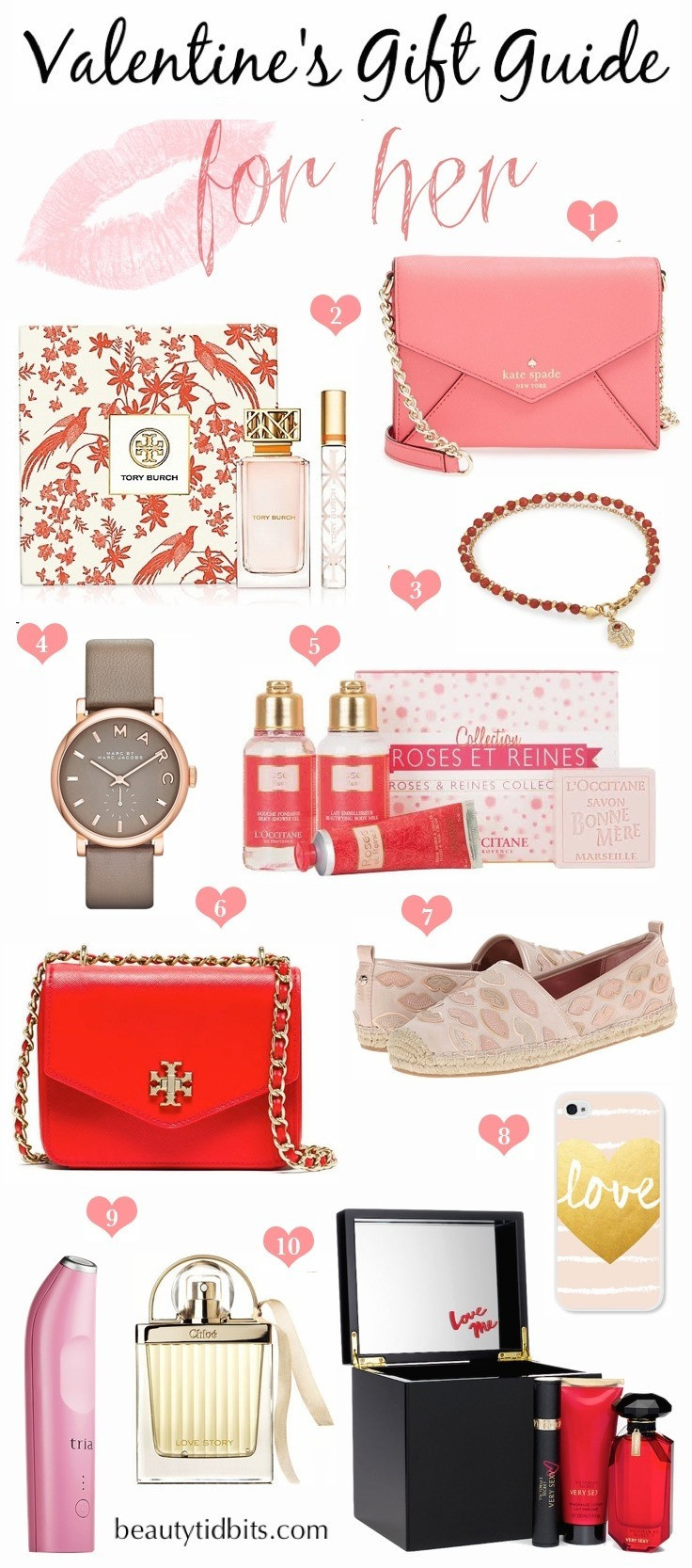 Valentine'S Day Gift Ideas For Her  Valentine s Day Gift Guide For Her