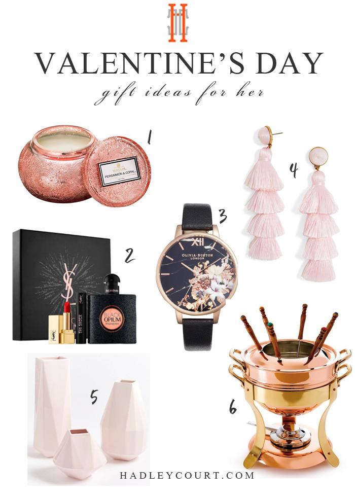 Valentine'S Day Gift Ideas For Her  Valentine s Day Gift Ideas for Her Hadley Court