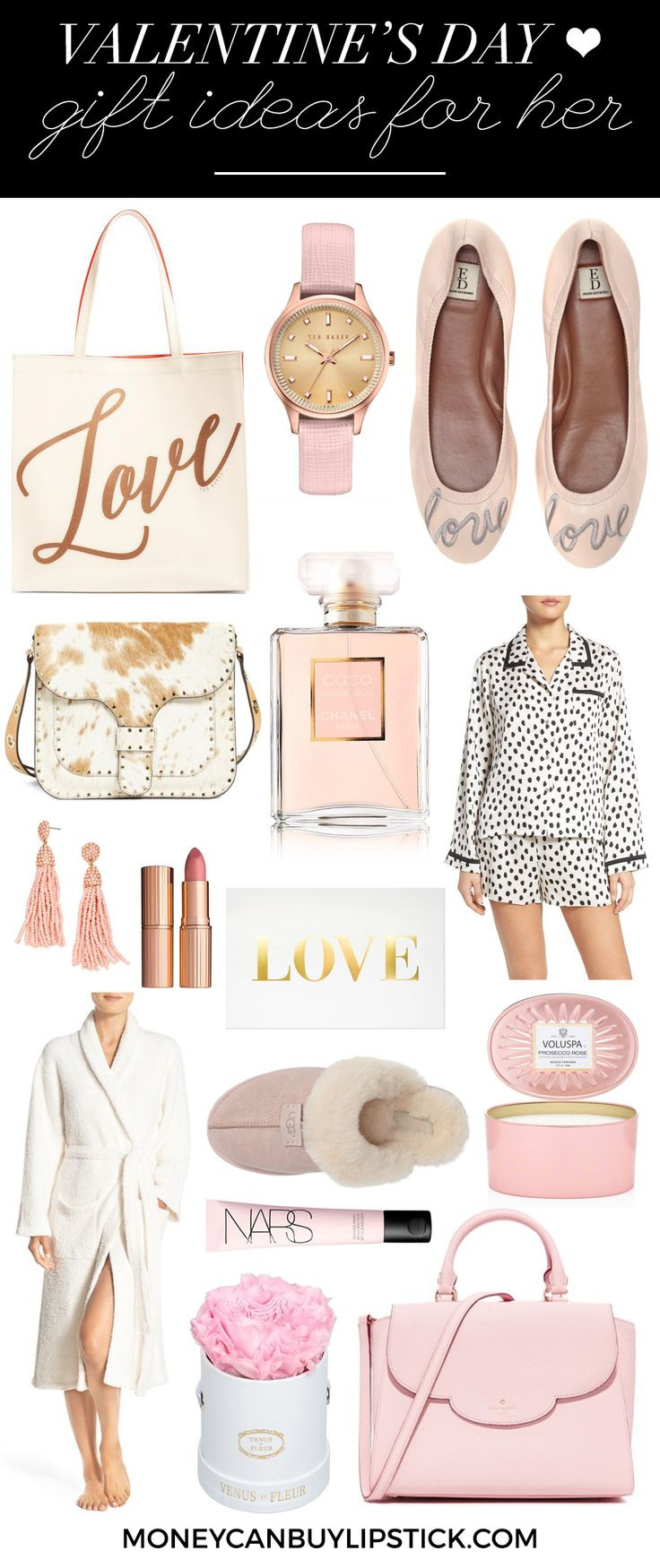 Valentine'S Day Gift Ideas For Her  Best 25 Pink ts ideas on Pinterest