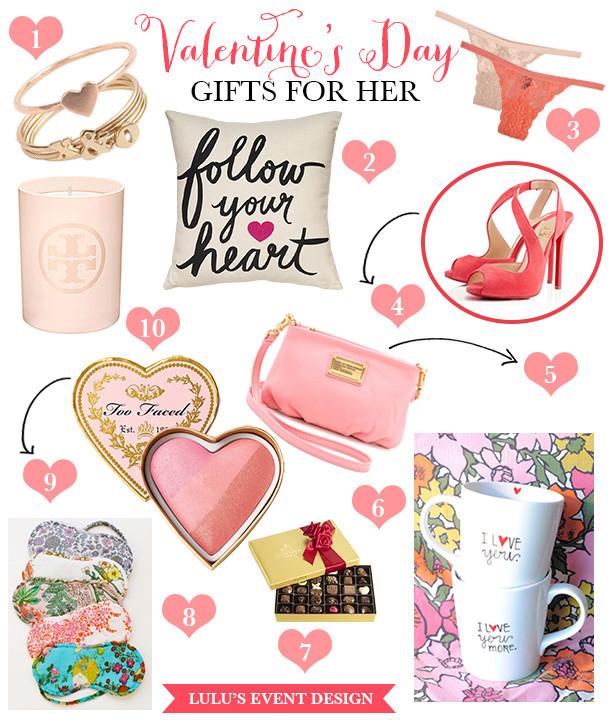 Valentine'S Day Gift Ideas For Her  Valentine s Day Gift Ideas for Her • DIY Weddings Magazine